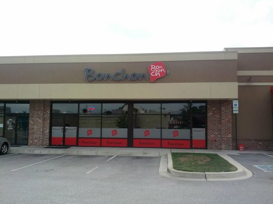 BonChon Chicken: The front entrance