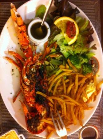 Le Vivier: homard rôti