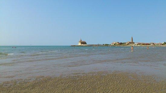 Hotel Verona : la spiaggia dall'hotel