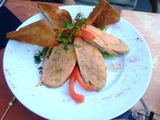 Les Vents D'anges : foie gras maison