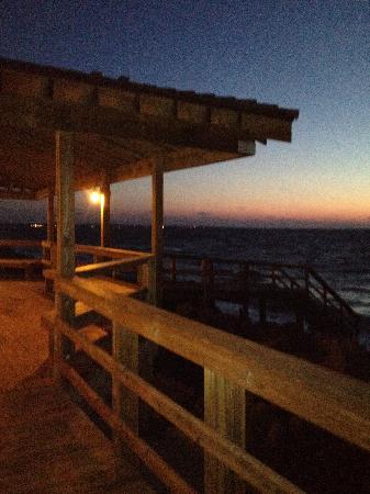 Villas by the Sea Resort & Conference Center: Boardwalk sunrise