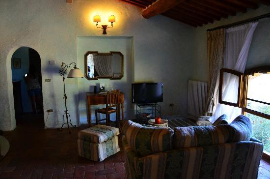 Vignamaggio: Living Room