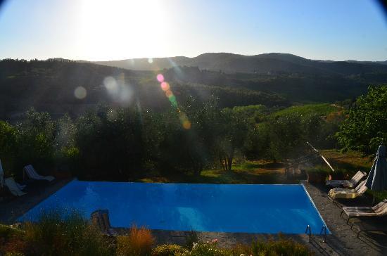 Vignamaggio: Infinity Pool