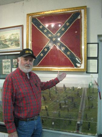 Museum of Southern History: The flag of the 19th GA