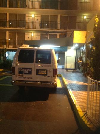 Rodeway Inn Miami Airport : The Cleanest Area of the Hotel