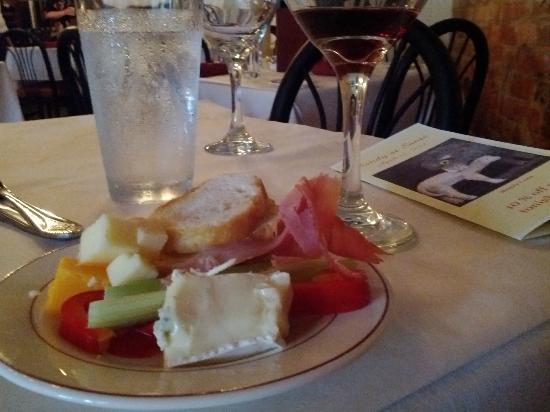 Sante: Enjoying a recent wine tasting event.