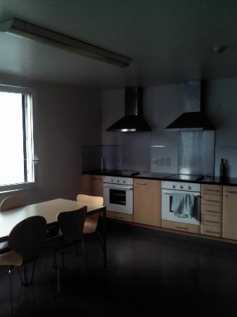 Goldsmid House: Fantástica cocina para uso común de los residentes