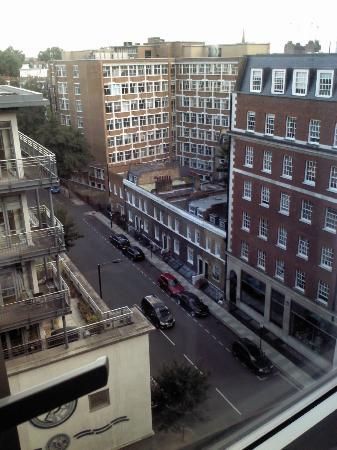 Goldsmid House: Vista desde la ventana de mi habitación