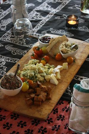 Hostel Tevere: Cheese Board
