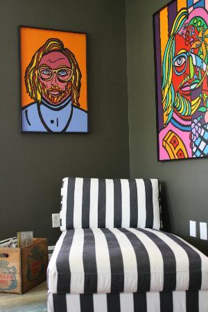 Hostel Tevere: Local art
