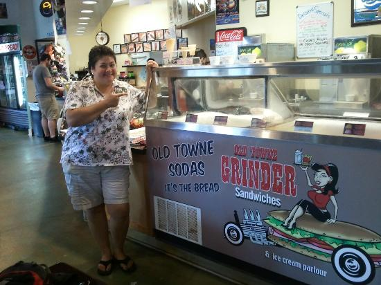 Old Towne Orange Walking Food Tours: To bad we didn't have ice cream