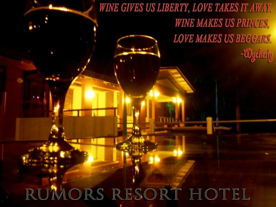 Rumors Resort: a romantic, getaway for the sophisticated
