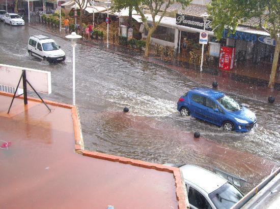Magaluf Playa Apartments: inundacion
