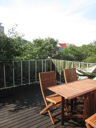 Kalli's Apartments: The roof terrace!