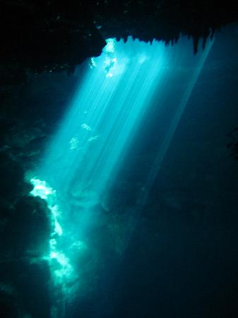 Yucatek Divers: The Light at the end of the tunnel :)