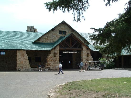 Grand Canyon Lodge - North Rim : This is the main facility at Bright Angel Point - The restaurant is here
