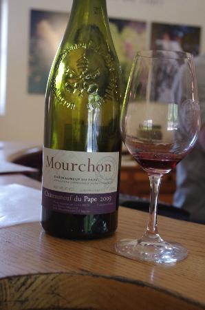 Domaine de Mourchon : Delicious Dom. de Mourchon wine tastings..