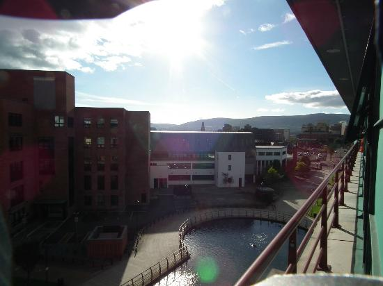 Radisson Blu Hotel, Belfast: view from 416