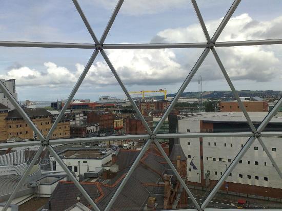 Radisson Blu Hotel, Belfast: Belfast view 2