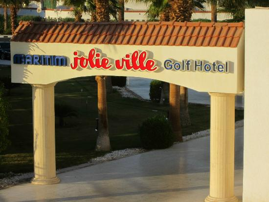 Maritim Jolie Ville Golf & Resort: Entrance