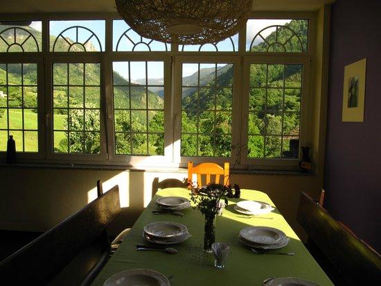Casa Funsiquin : Vistas desde el comedor