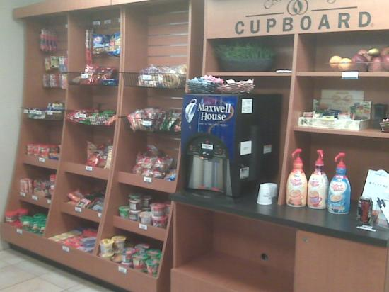 Candlewood Suites Polaris: Snack store and free coffee