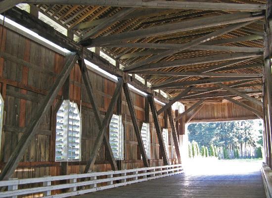 Cottage Grove Covered Bridge Tour Route: Dorena Bridge