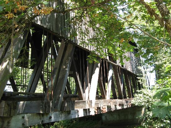 Cottage Grove Covered Bridge Tour Route: Chambers RR bridge