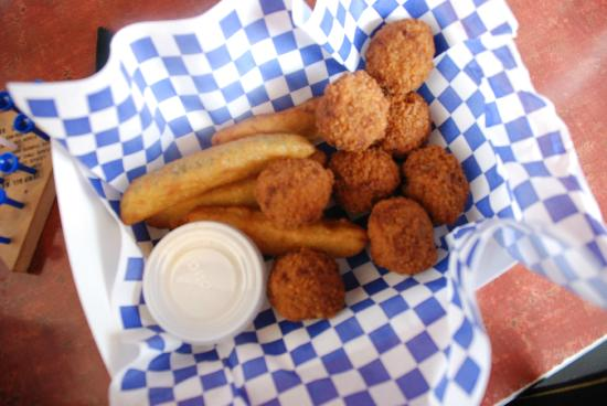 The Shak : Crawfish Kickers and Deep-fried Pickles