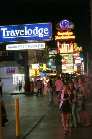 Travel Lodge Las Vegas Streifen