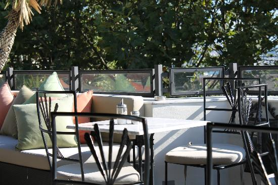 Nomade Hotel: The terrace was my favorite spot