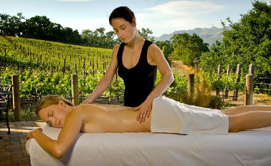 The Wine Country Inn: Spa splurges available