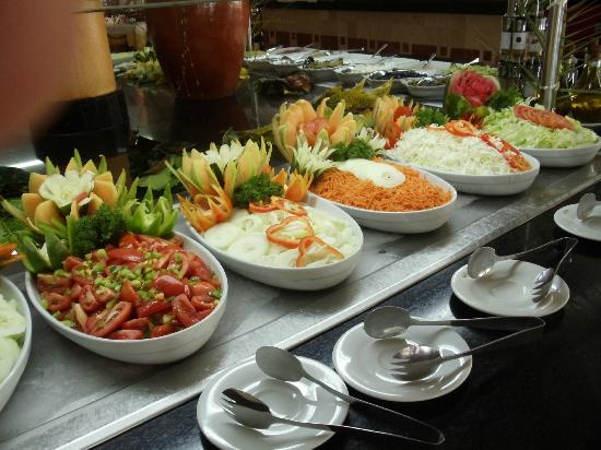 Grand Palladium Punta Cana Resort & Spa: buffet sympa