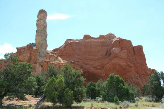 Kodachrome Basin State Park: The landscape of the park eroded away revealing the 67 unusual