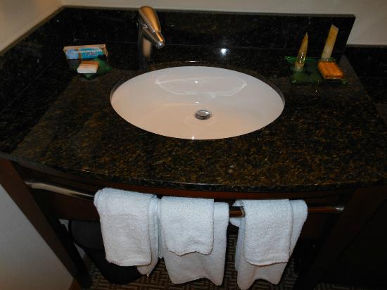 Bathroom Sinks Kansas City bathroom sink - picture of hyatt place kansas city/overland park