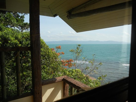Suncliff Resort: Samui in the distance