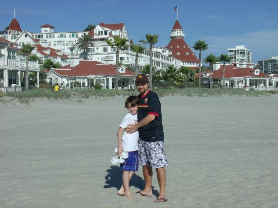 Coronado Island: De fondo el hotel coronado