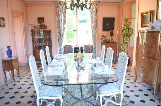 Chartrettes, France : dinning room
