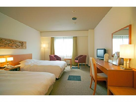 Hotel Lexton Kagoshima : ツインルーム