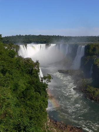 Iguazu Falls: ruido ensordecedor