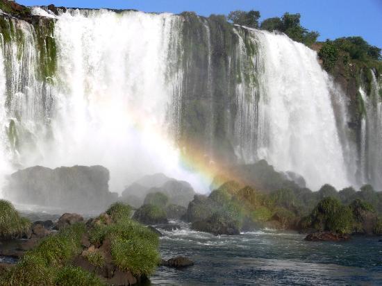 Iguazu Falls: cuidado que salpica