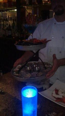 Ocean: seafood tower. wow