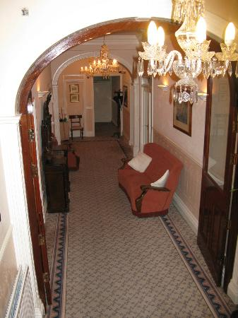 Ardagh House: View of the entry hall