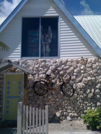 Ibis Bay Beach Resort: vor unserem Zimmereingang