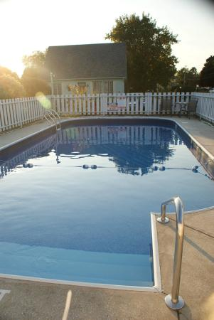 Swanton, VT: Clean, Well Kept Pool Area, without Time Restrictions