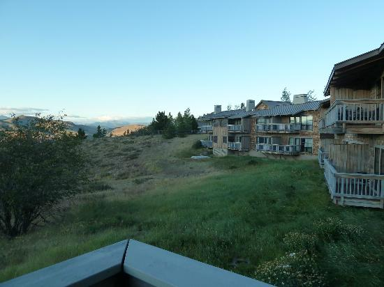 Sun Mountain Lodge: View from our room