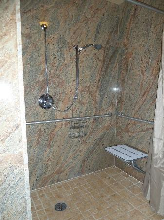Sun Mountain Lodge: Roll In Shower