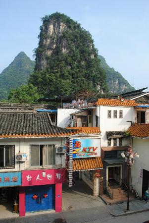 Li River Hotel (Decui Road): view from the window