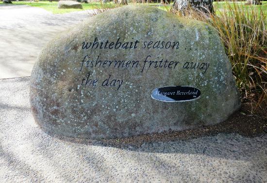Haiku Pathway: Whitebait season Haihu