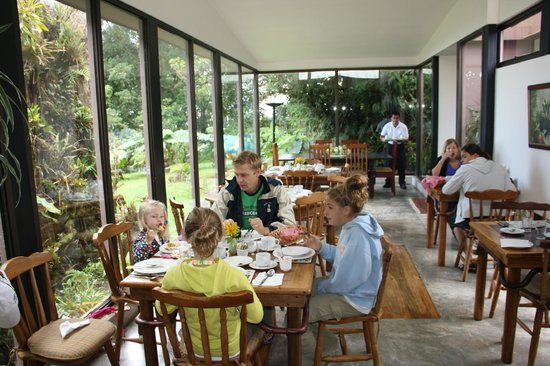 Poas Volcano Lodge: Dining room